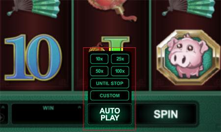 auto play slot online