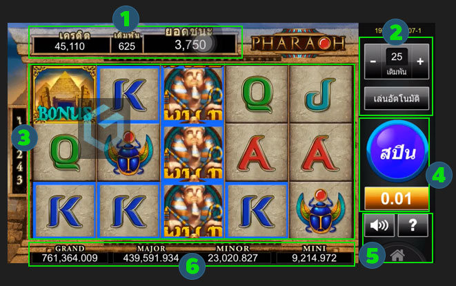 gclub pharaoh slot online